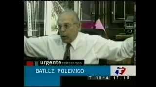 UNA MANGA DE LADRONES DEL PRIMERO HASTA EL ÚLTIMO  JORGE BATLLE