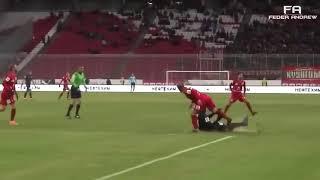 Смешной футбол - приколы, забавные навыки, фолы, кот на поле)
