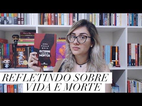 ENTERRE SEUS MORTOS, de Ana Paula Maia | Um livro INTRIGANTE  que gera muita reflexão