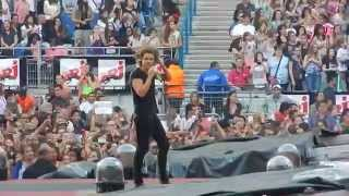 One Direction Live Why Don't We Go There + Liam and Harry speeches WWAT Fance 21.06.2014 HQ