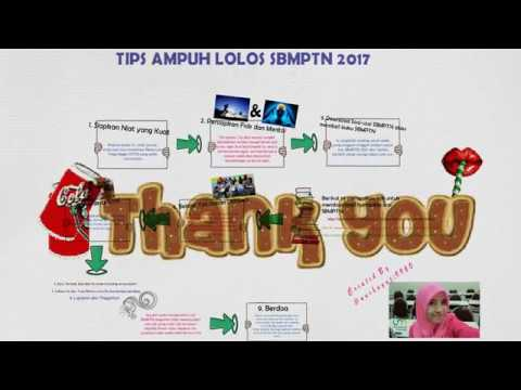 Video TIPS AMPUH LOLOS SBMPTN 2017