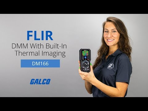 Flir's DM166 Digital Multimeter with Built-In Thermal Imaging