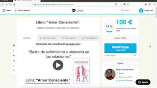 Video instructivo para el crowdfounding