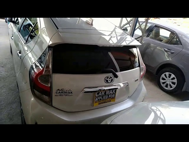 Toyota Aqua S 2018 for Sale in Bahawalpur