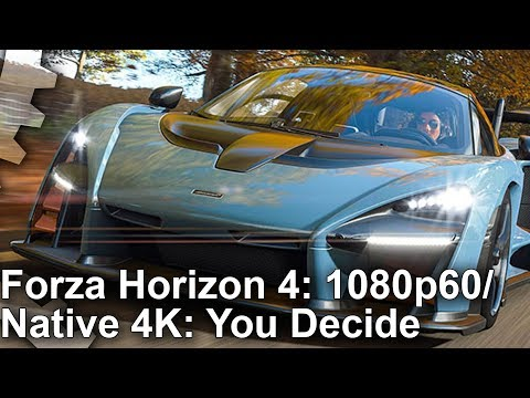 forza horizon 4 1080p60 or 4k30 you decide xbox one x. Black Bedroom Furniture Sets. Home Design Ideas