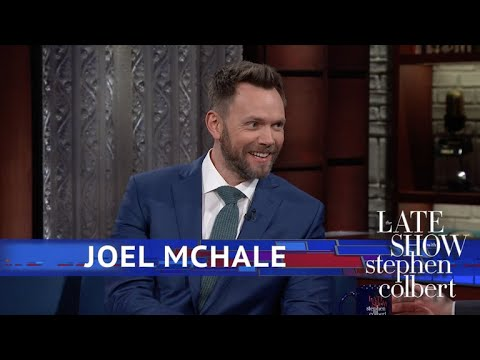 Joel McHale Worked With Chevy Chase, Then Played Him On Netflix