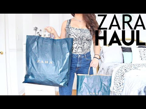 I Spent $1000 At Zara | ZARA TRY ON HAUL 2019 !!
