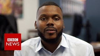 Michael Tubbs is on a mission - to save his hometown - BBC News