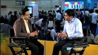 SAP LABS INDIA – V R Ferose Live interview at TECH ED, 2011 – Part 1