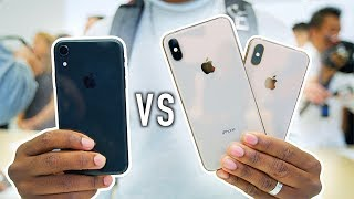 iPhone Xs / XS Max vs iPhone Xr - What's the Difference? (Hands-On)