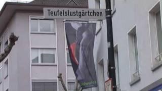 preview picture of video 'Tour durch die hessische Stadt Gießen am Sonntag'