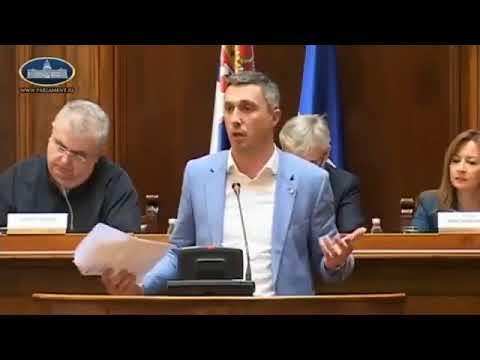 Srpski zastupnik Boško Obradović o lgbt lobijima