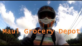 How to run to the grocery store on Maui.