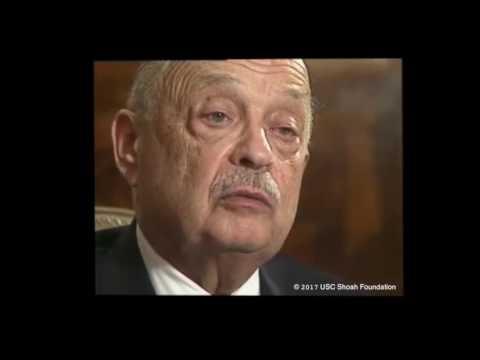 Paul Schaffer, rescapé de la Shoah, décrit la marche de la mort d'Auschwitz en janvier 1945