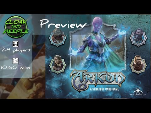 Cloak and Meeple: Preview   Arkon