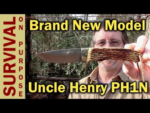 Uncle Henry PH1N Pro Hunter Full Tang Knife- First Review
