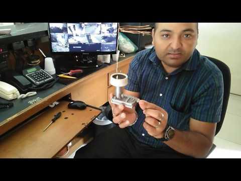 Antena digital com LNB  reciclado