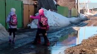 16 04 19 В Воткинске затопило один из микрорайонов