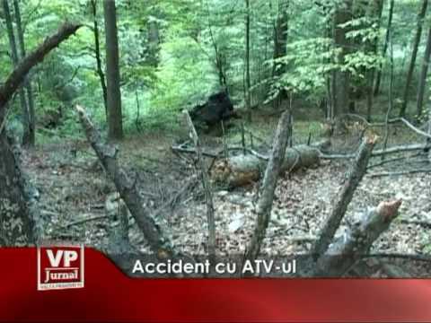 Accident cu ATV-ul