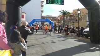 preview picture of video 'Xukis Benicassim  i Juanjo Carrera Orpesa San Silvestre 30 Dic 2012 4km'