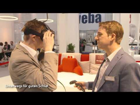Virtual Reality in der Welt des Schlafes - Markus Kamps bei Badenia und Brinkhaus auf der Heimtextil