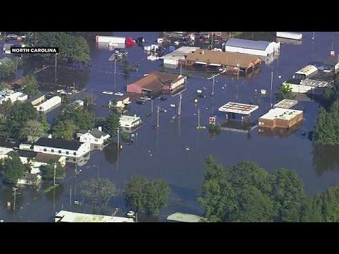 ΗΠΑ: Υδάτινος εφιάλτης μετά τον τυφώνα Μάθιου