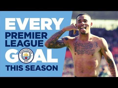 EVERY PREMIER LEAGUE GOAL   Man City   2017/18 Season