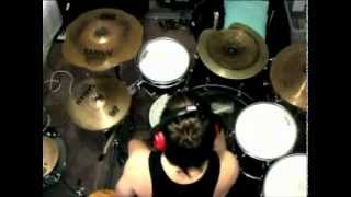sam bonomini - as blood runs black - my fears have become phobias - drum cover