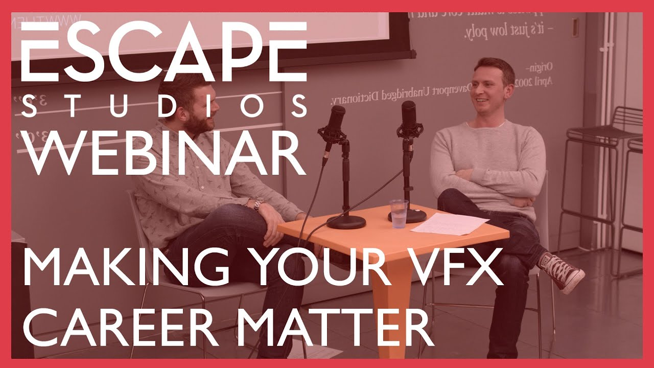 Making your VFX Career Matter with The Mill