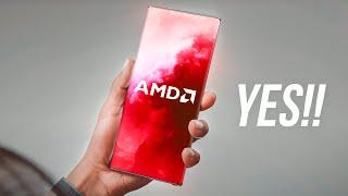 Samsung Galaxy S21 - AMD SURPRISE