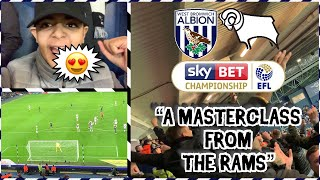 DERBY FANS GOING MENTAL AT WEST BROM😱 | WEST BROM VS DERBY COUNTY AWAY DAY VLOG 🔥SCENES🔥