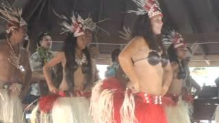 Cook Island Dance At The Saturday Market In Avarua 1