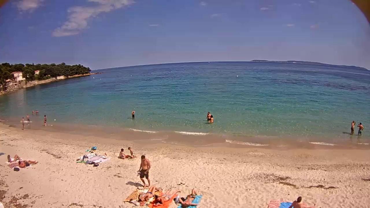 Webcam en live de la plage d'Aiguebelle au Lavandou