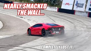 I Nearly Wrecked a Twin Turbo Lambo at the Freedom Factory... (Safety Eye Opener with Cleet)