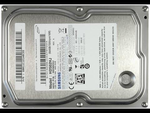 Диагностика жесткого диска Samsung HD502HJ 500Gb. Этот старичок еще послужит верой и правдой
