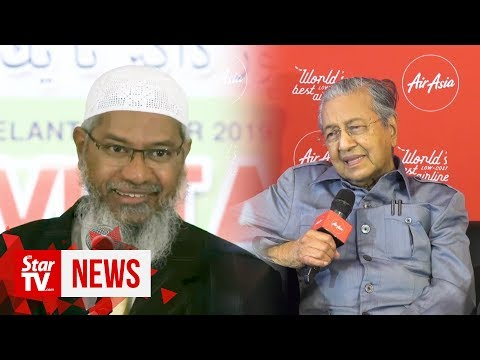 Zakir's PR status to be decided after police probe, says Dr M