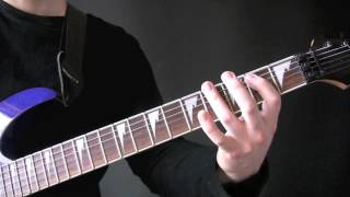 Override Of The Overture Guitar Tutorial by Dismember