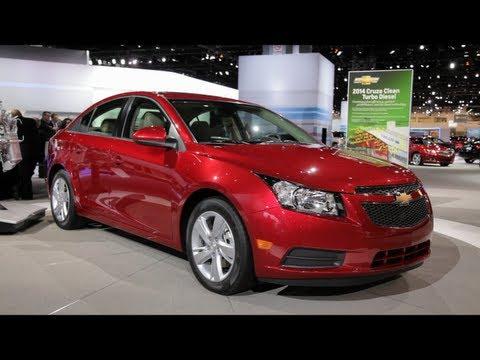 2014 Chevy Cruze Diesel - 2013 Chicago Auto Show