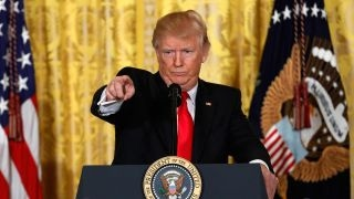 President Trump responds to FBN's 'fake news' question