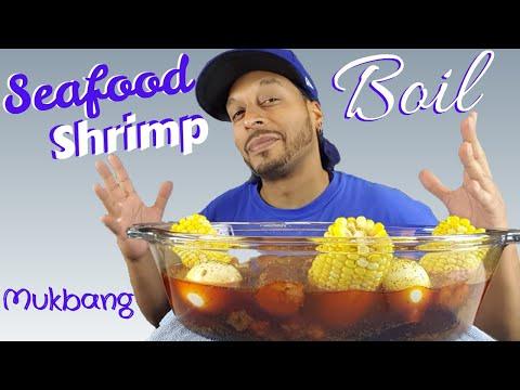 Seafood Shrimp Boil Mukbang