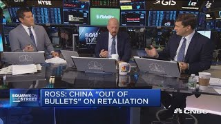 Jim Cramer: Wilbur Ross is right