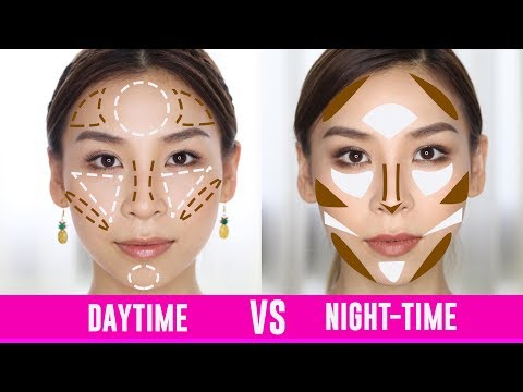 Daytime Contouring VS Night-Time Contouring