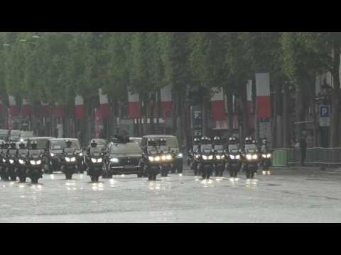 DS 7 Crossback Emmanuel Macron