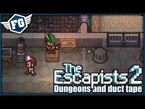 KONEČNĚ ÚTĚK - The Escapists 2: Dungeons And Duct Tape #3