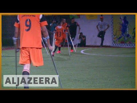 🇵🇸 Playing football brings hope to amputees in Gaza   Al Jazeera English