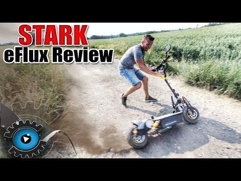DIE STÄRKSTEN ELEKTRO SCOOTER? eFlux FREERIDE & VISION X2 REVIEW -TEST [DEUTSCH/GERMAN]