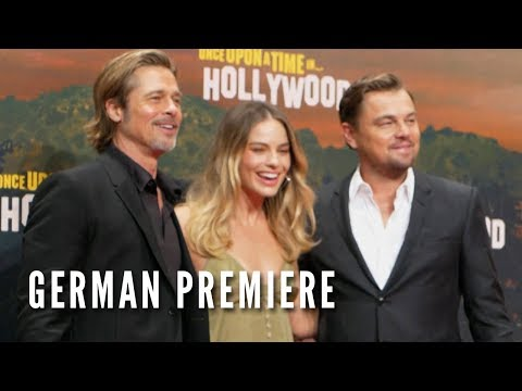 ONCE UPON A TIME IN HOLLYWOOD - German Premiere