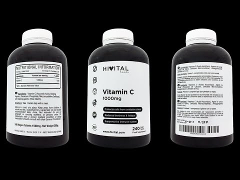 Video VITAMINA C 1000 MG | 240 COMPRIMIDOS