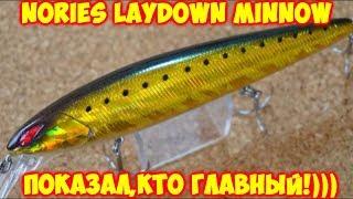 Nories laydown minnow mid 110f