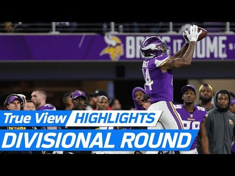 Top 360 & POV NFL freeD Plays of the 2017 Divisional Round | NFL Highlights